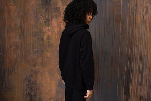 Foto d'estoc gratuïta de afro, amb caputxa, aparença