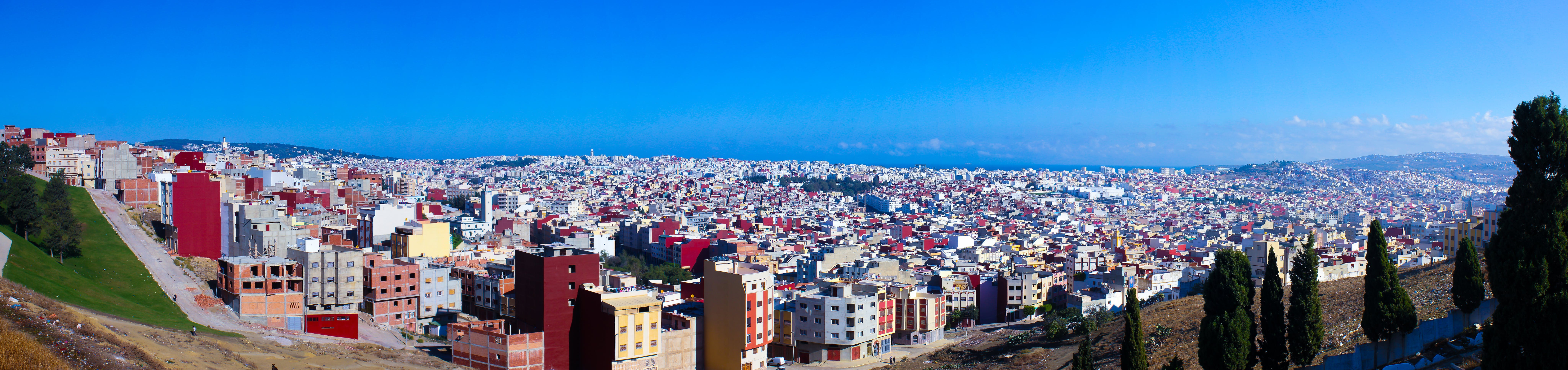 Free stock photo of morocco, panoramic view, tangier