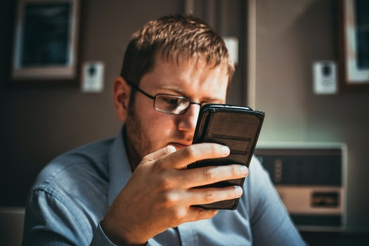 Free stock photo of businessman, man, smartphone, technology