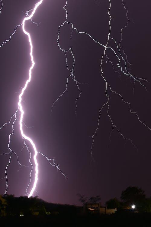 Fotos de stock gratuitas de rayo, tormenta, trueno