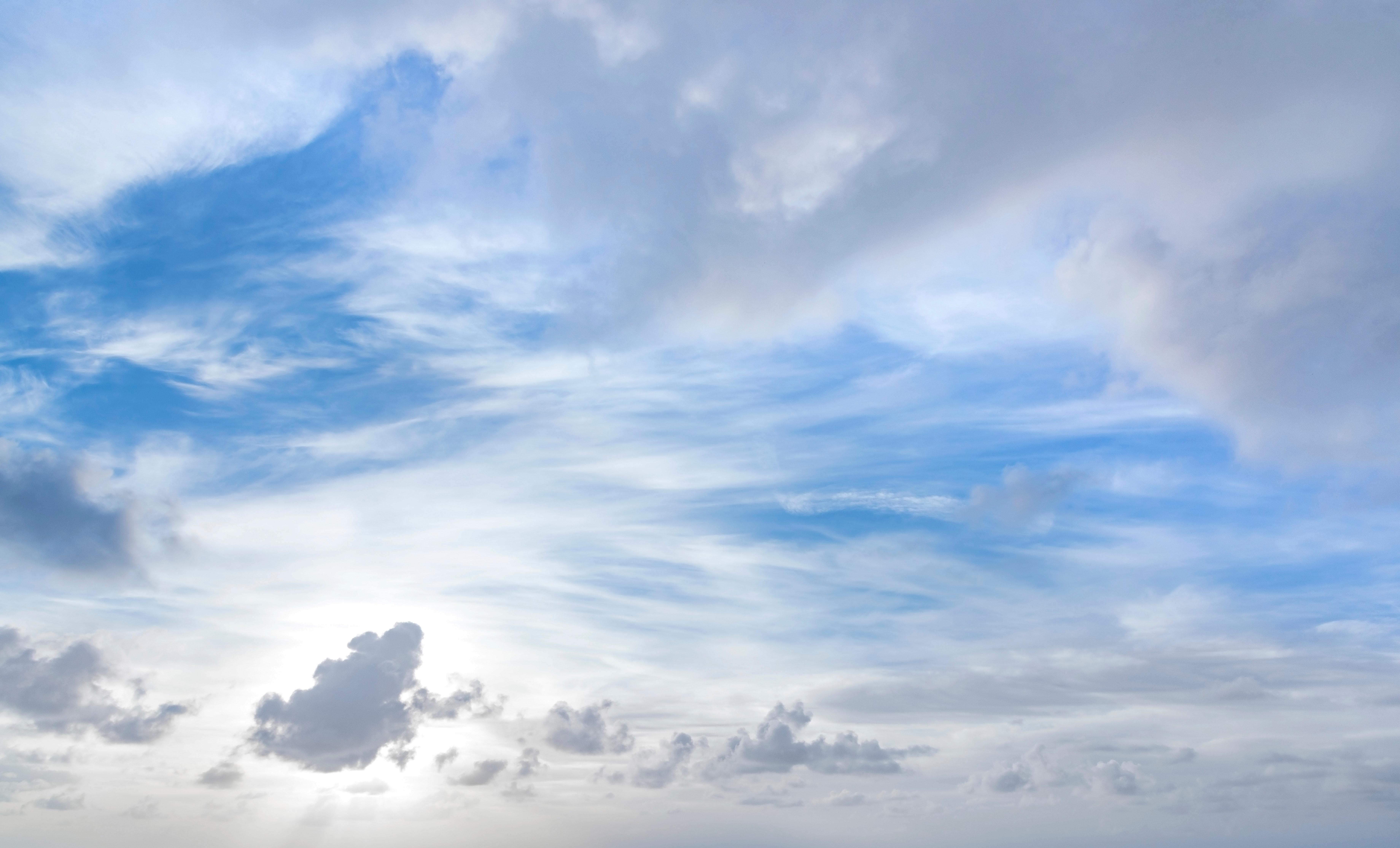 Cloudy Sky Free Stock Photo