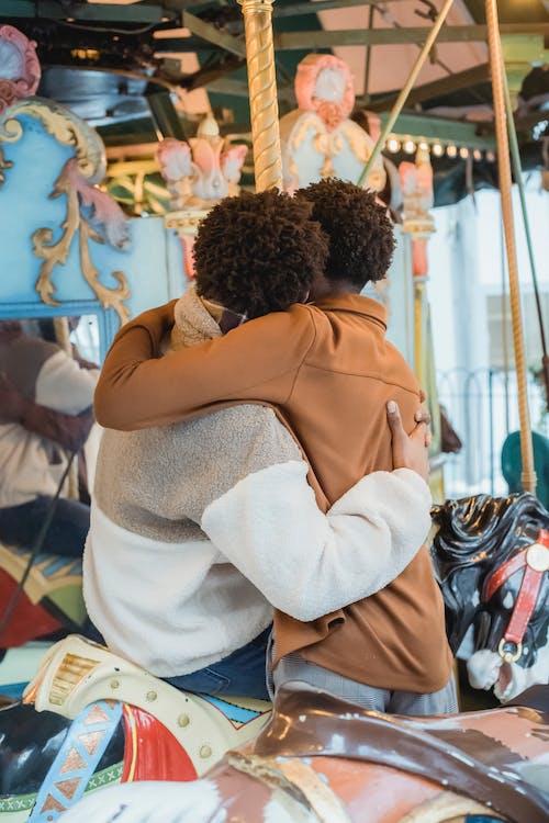Gratis stockfoto met affectie, afro-amerikaanse mannen, amusement
