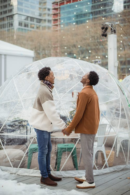 Gratis stockfoto met affectie, afro-amerikaanse mannen, afspraakje