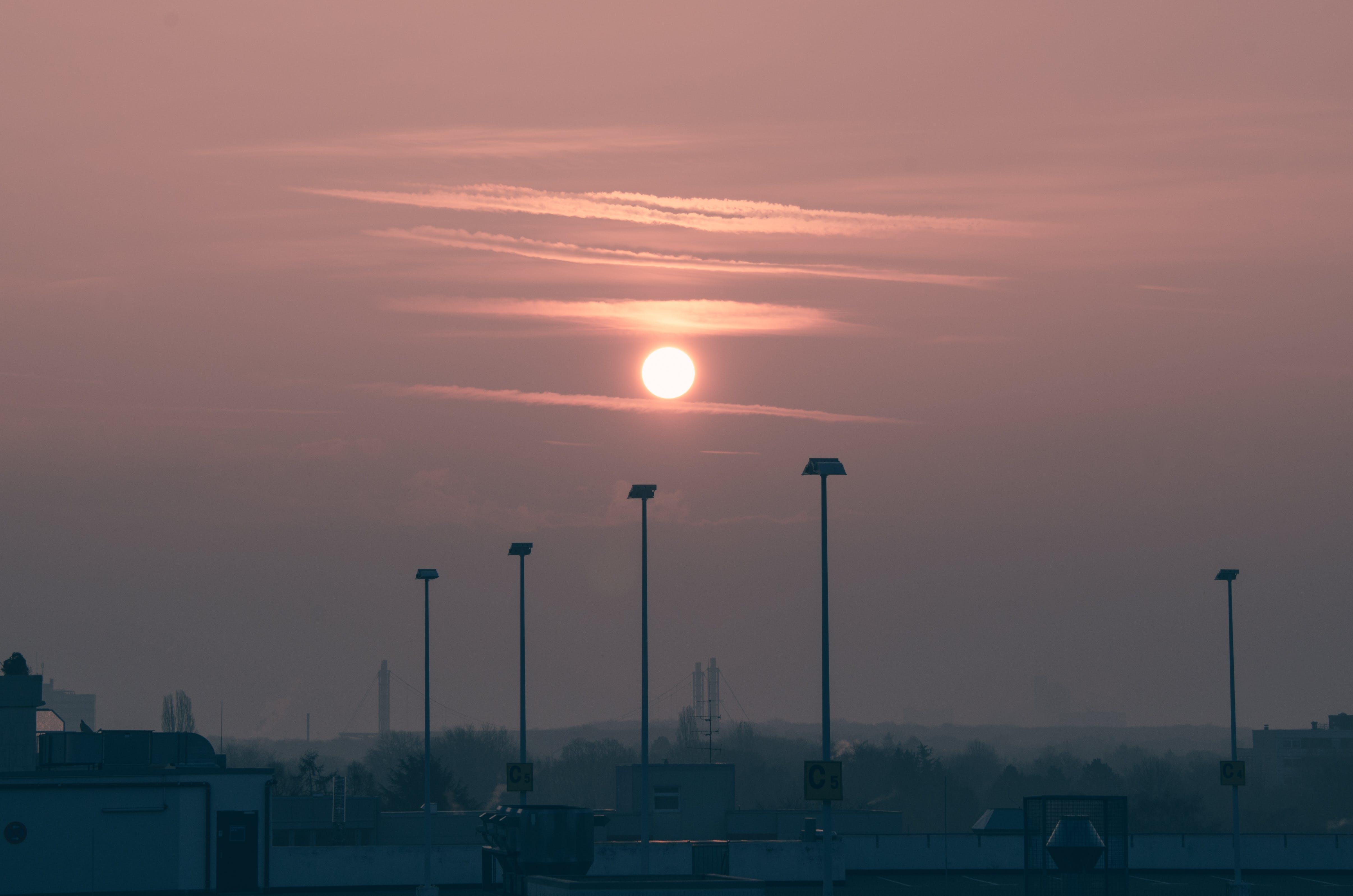 Free stock photo of early, early morning, hazy, morning sun
