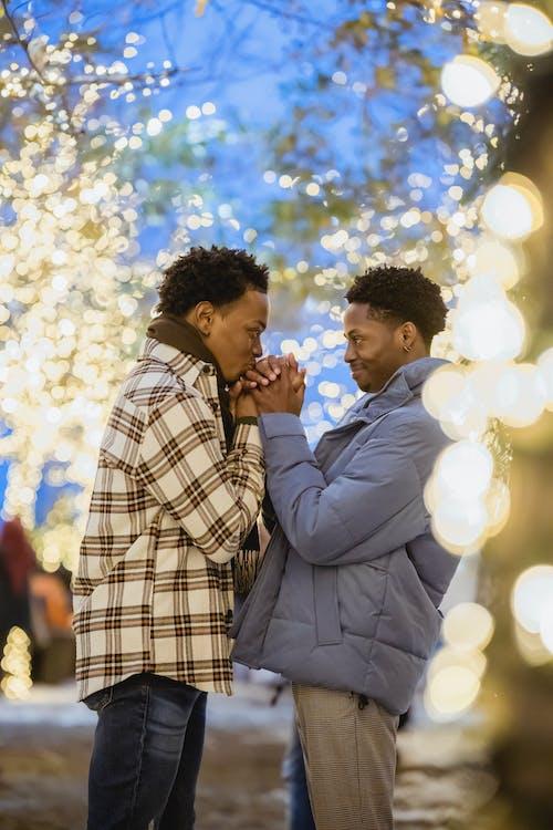Kostenloses Stock Foto zu afro, afroamerikanische männer, aufrichtig