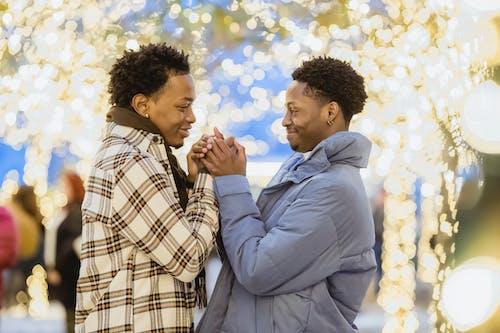 Kostenloses Stock Foto zu afro, afroamerikanische männer, angenehm