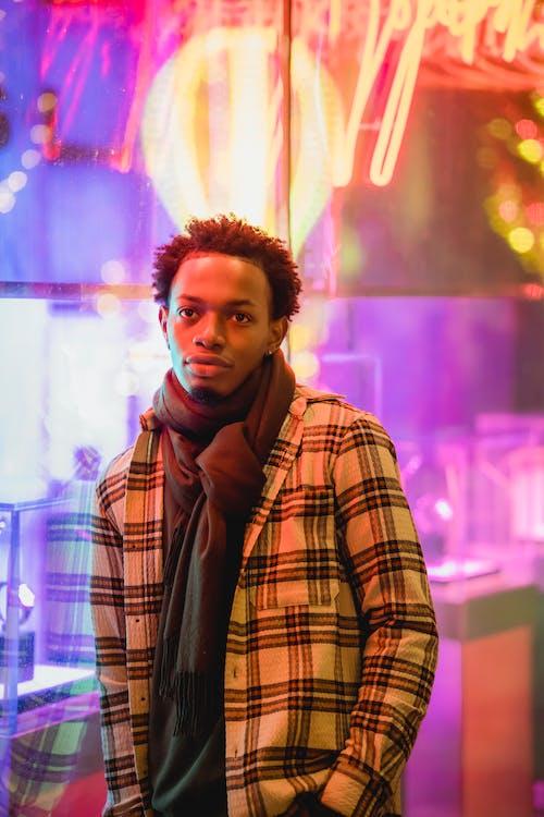Kostenloses Stock Foto zu abend, afro, afroamerikanischer mann
