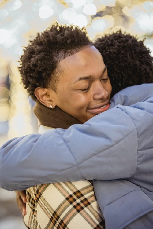 Kostenloses Stock Foto zu achtsamkeit, afro, afroamerikanische männer