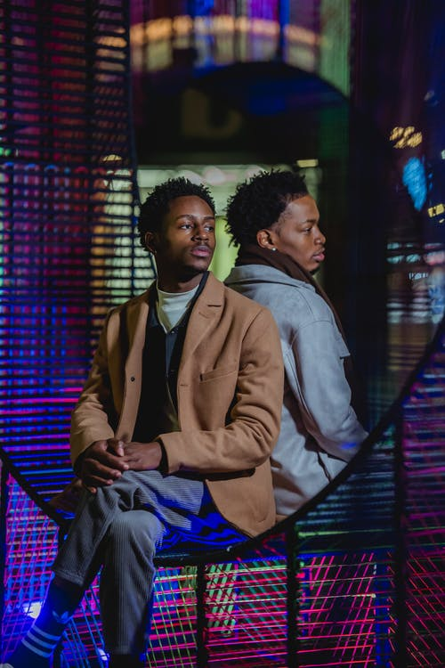Kostenloses Stock Foto zu afroamerikanische männer, ausruhen, beziehung
