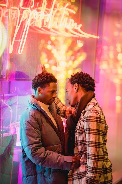 Kostenloses Stock Foto zu afroamerikanische männer, aussehen, bart