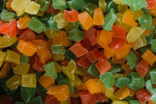 Close-Up Shot of Gummy Candies