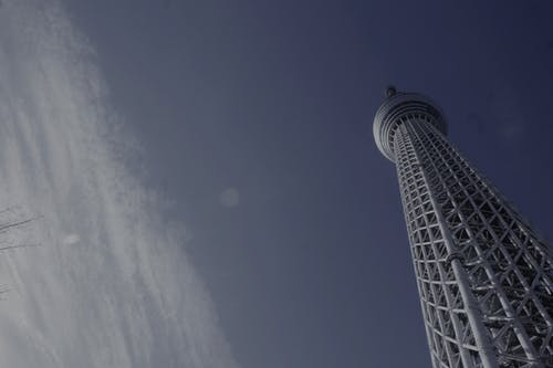 Free stock photo of blue sky, clear blue sky, japan