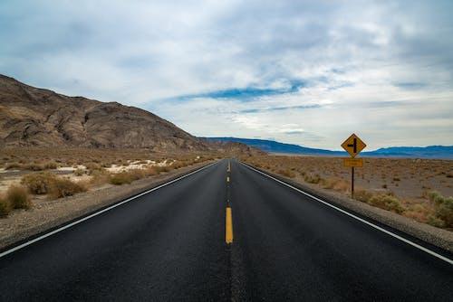 Free stock photo of asphalt, blacktop, desert