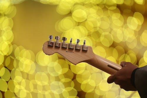 Fotobanka sbezplatnými fotkami na tému človek, dizajn, elektrická gitara, farby