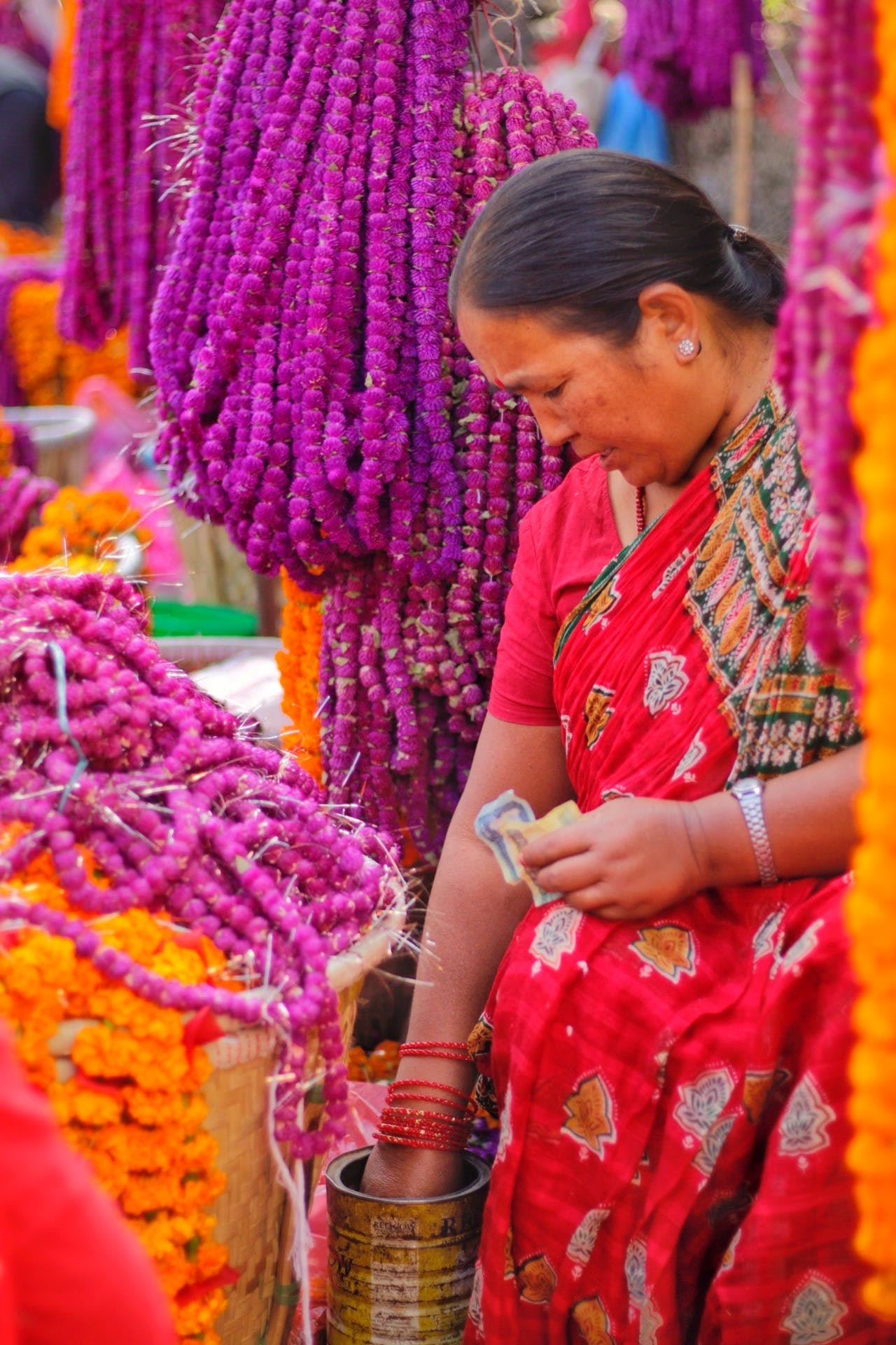 Free stock photo of beautiful flowers, culture, happiness, merchants