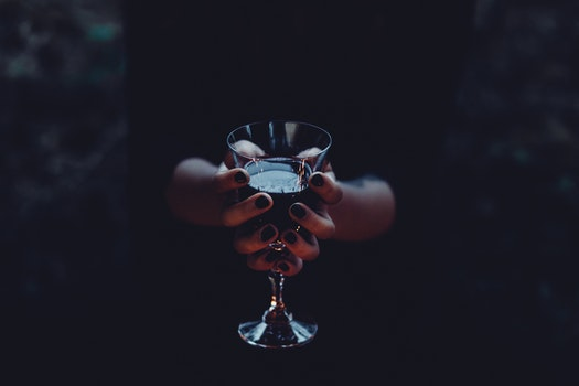 Free stock photo of hands, woman, dark, alcohol