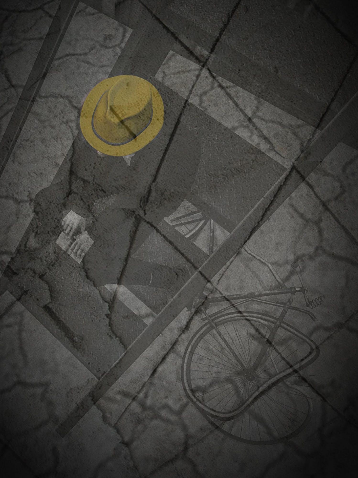Free stock photo of man, yellow, broken, hat