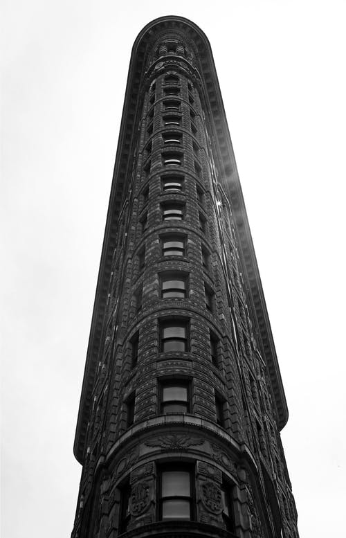 Free stock photo of flat iron building, manhattan, new york