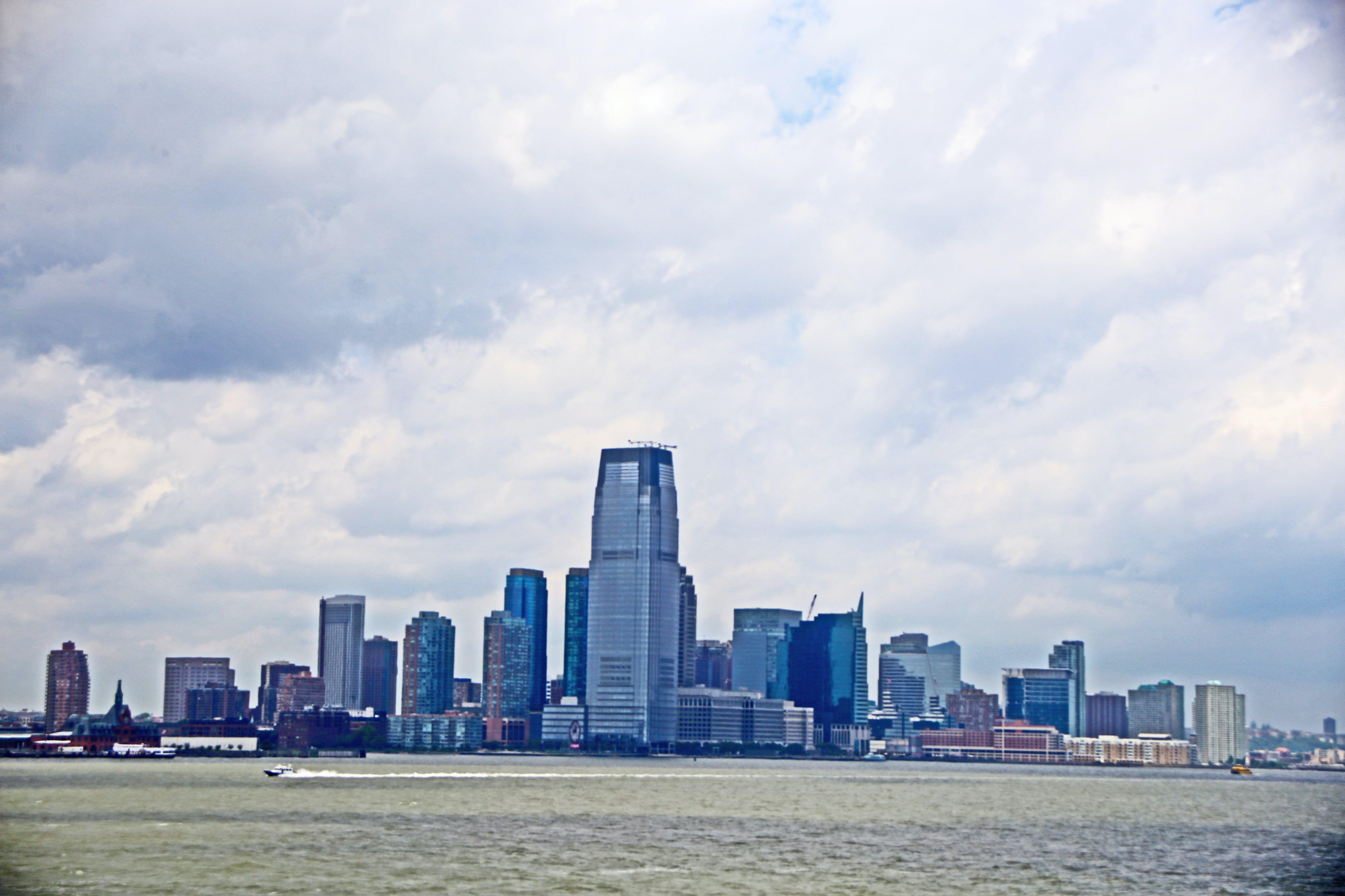 Бесплатное стоковое фото с горизонт нью-йорка, манхэттен, нью-йорк, нью-йорк финансовый район