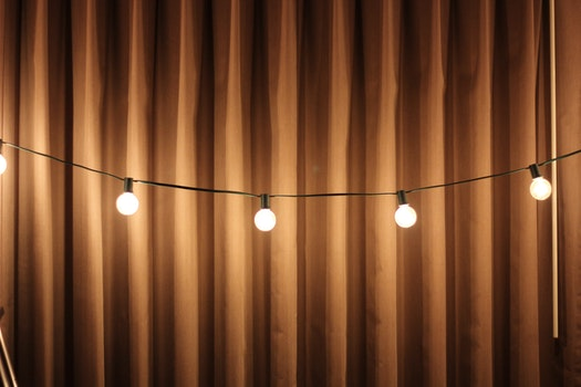 Free stock photo of lights, decoration, fabric, illuminated