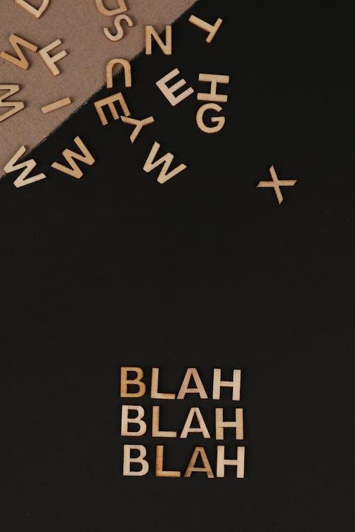 Fotos de stock gratuitas de alfabeto, bien, bla, bla, bla, conceptual