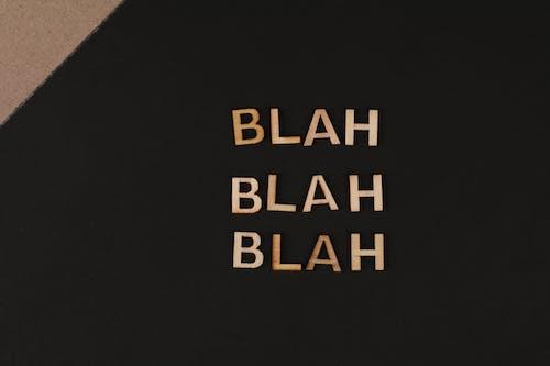 Close-Up Shot of Text
