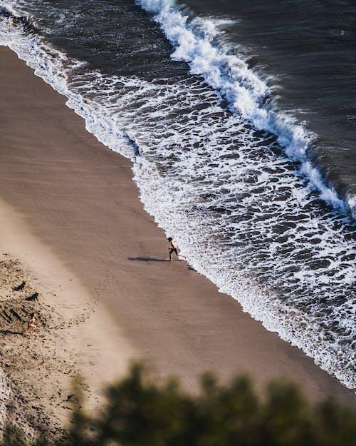 Gratis lagerfoto af æstetisk, blå, blå hav