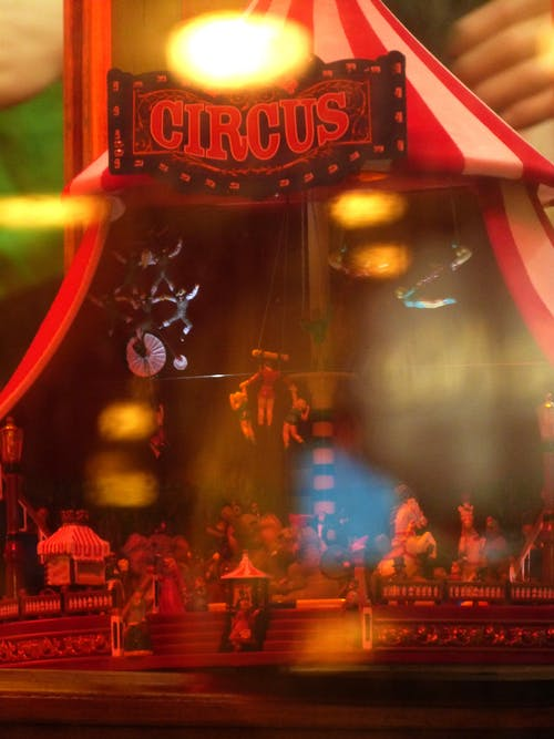 A Photo of Circus Toys