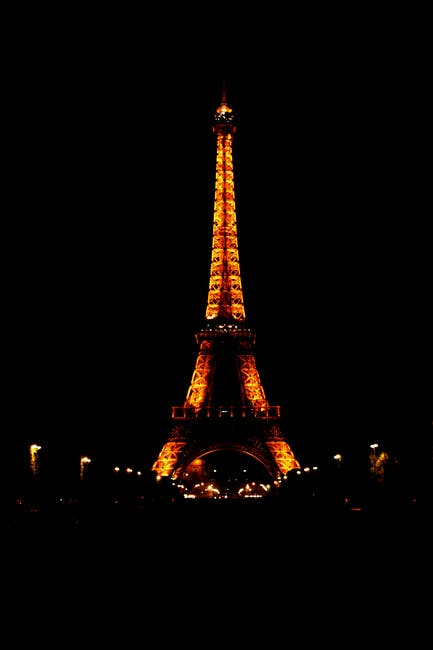 New free stock photo of city, art, eiffel tower