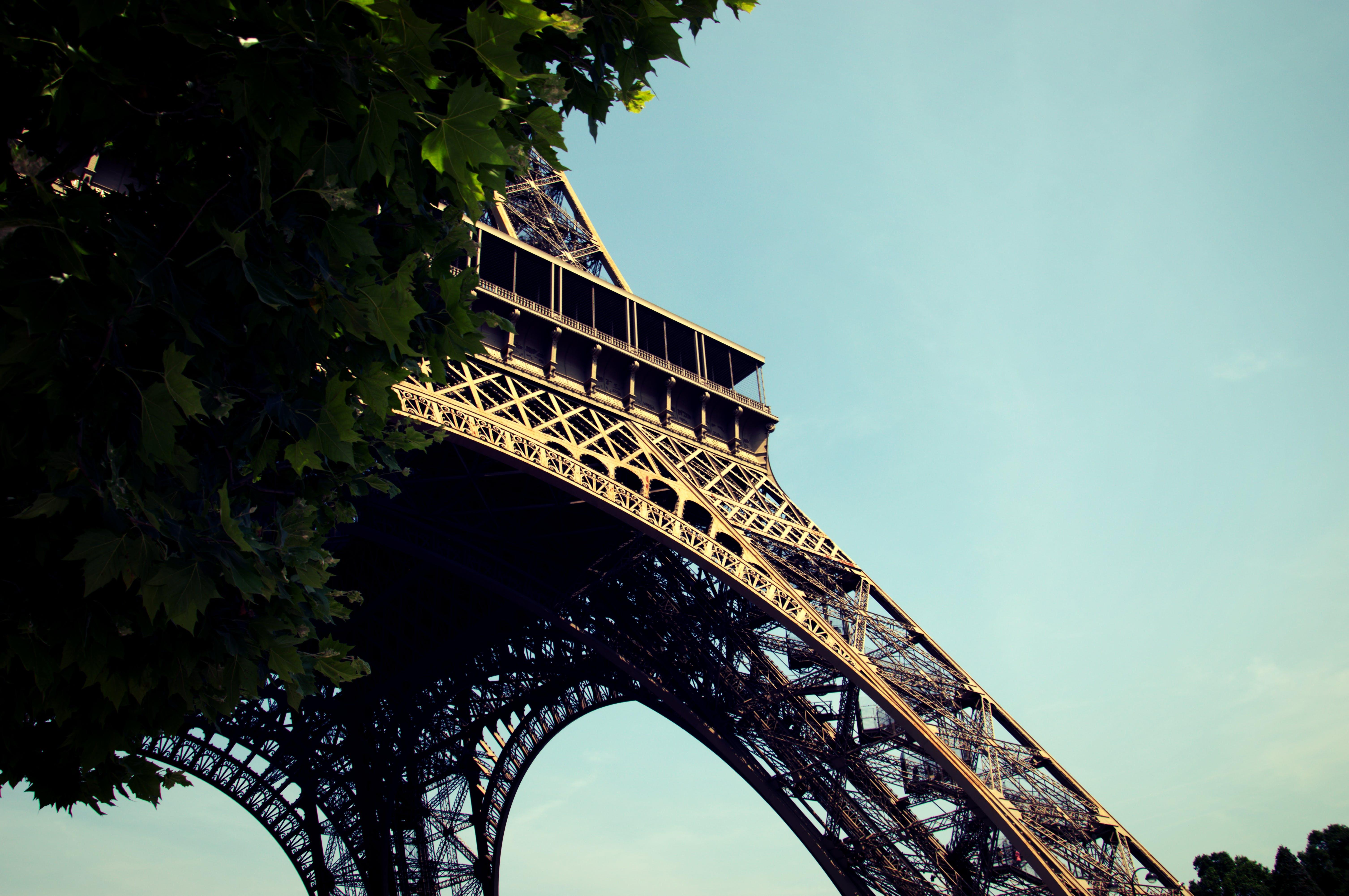 Eiffel Tower, Paris France Digital Wallpaper