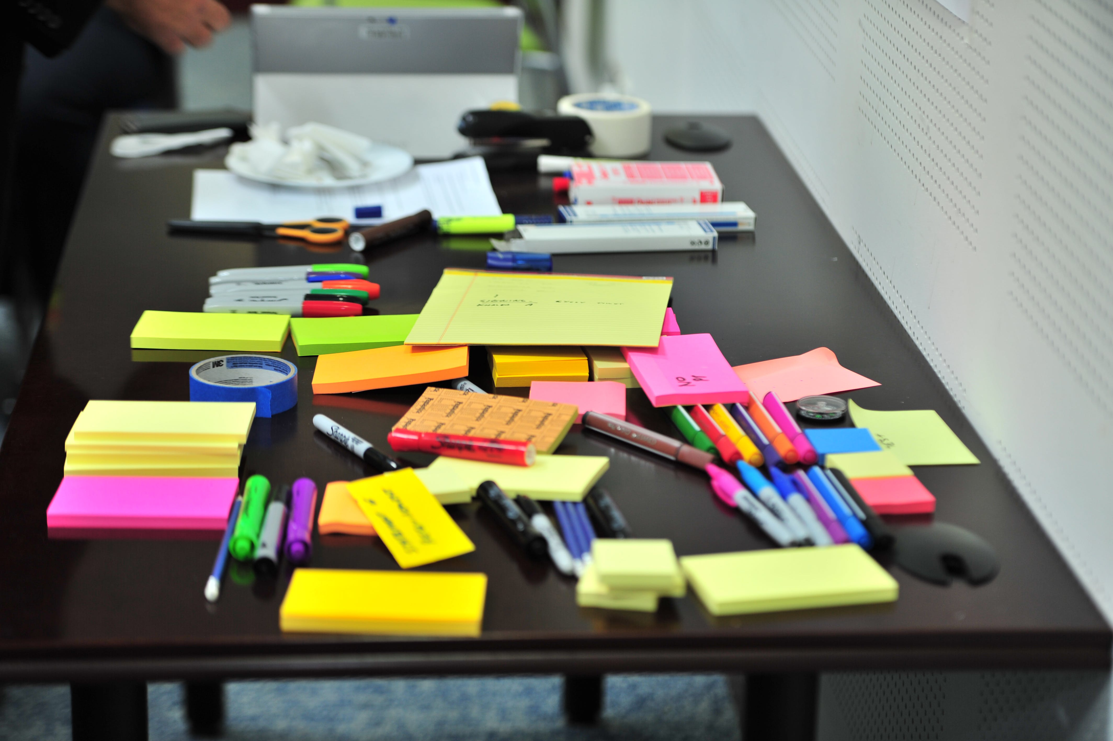 office, papers, process maps