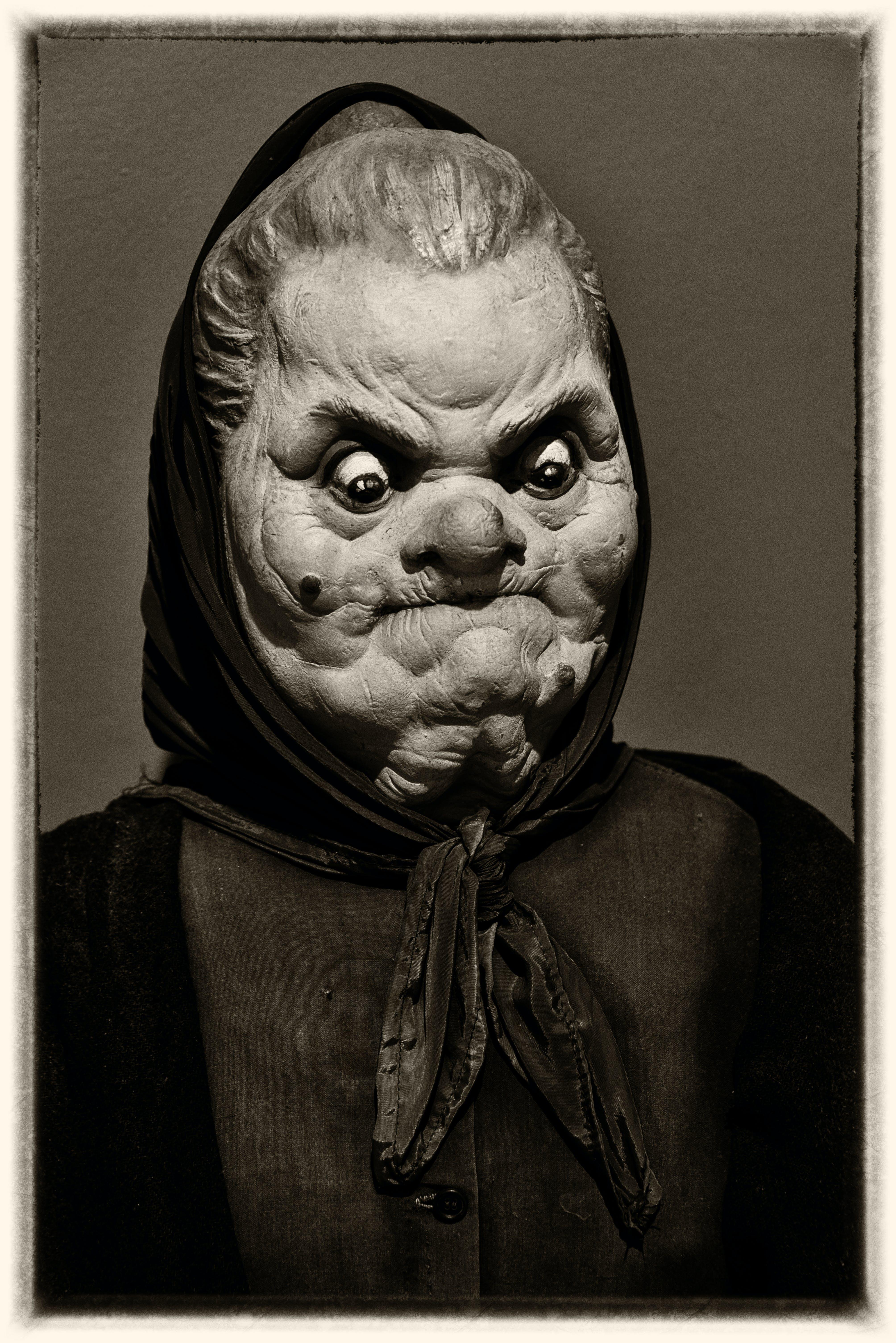 Free stock photo of funny face, manniken, granny face