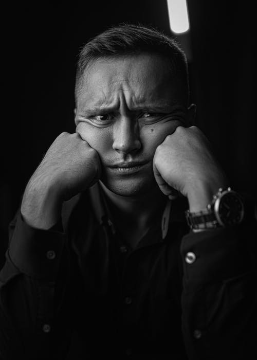 Free stock photo of adult, contrast, dark