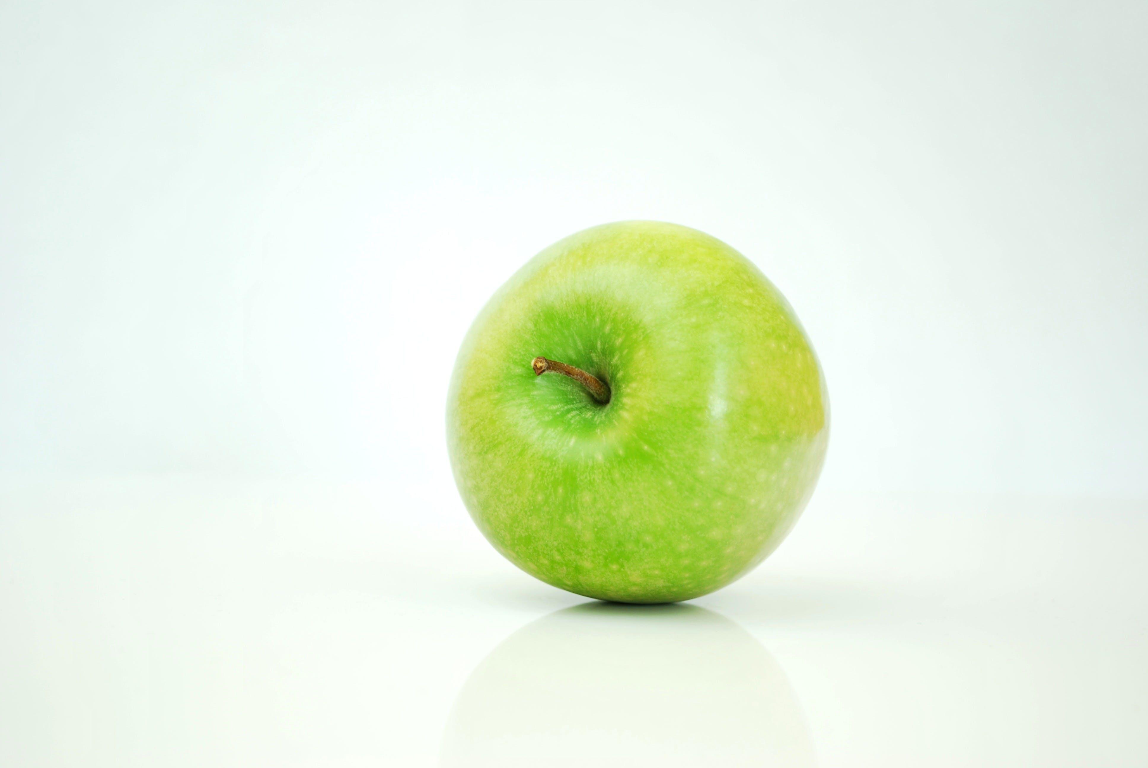 apfel, apple, essen