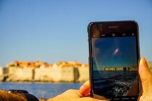 iPhone, 克羅地亞, 双照片, 城市 的 免费素材照片
