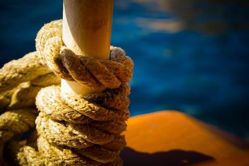 抓住, 海, 繩子, 船 的 免费素材照片