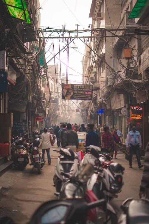 Free stock photo of bazaar, chandni chowk, cities