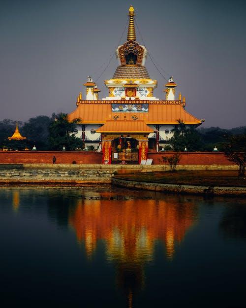 Gratis stockfoto met architectuur, Boeddha, boeddhistische tempel