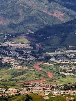 Free stock photo of city, mountain, outdoors, town