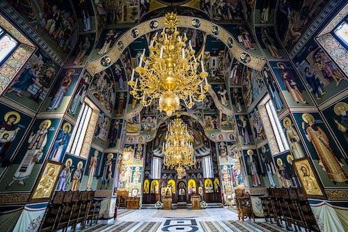 Darmowe zdjęcie z galerii z architektura, klasztor, klasztor sihastria