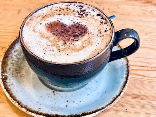 Kostnadsfri bild av hjärta, hjärtformad, kaffe, vinter