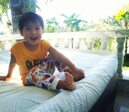 Free stock photo of happiness, happy kid