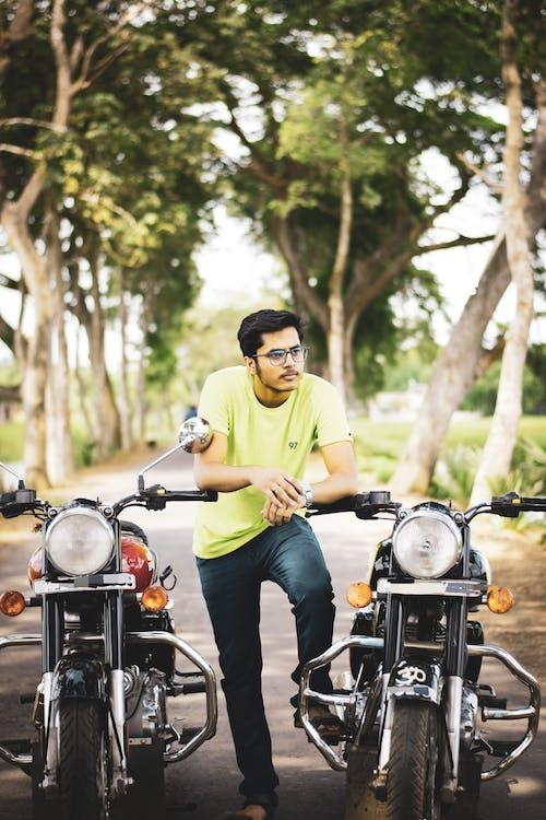 Free stock photo of adult, adventure, bike