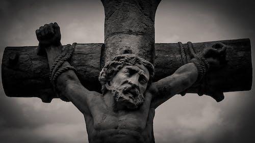Free stock photo of black, cross, crucifix