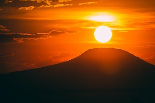 Free stock photo of atardecer, golden hour, golden sun