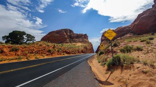 경치, 고속도로, 골짜기의 무료 스톡 사진