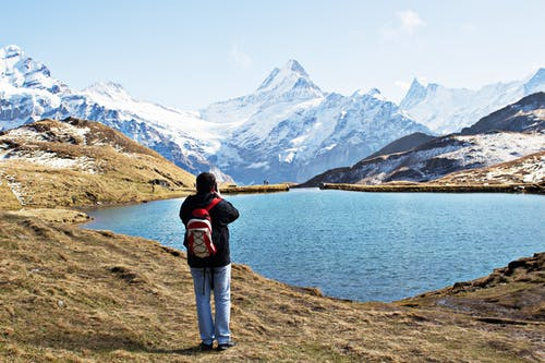 Gratis stockfoto met Alpen, avontuur, backpack, backpacken