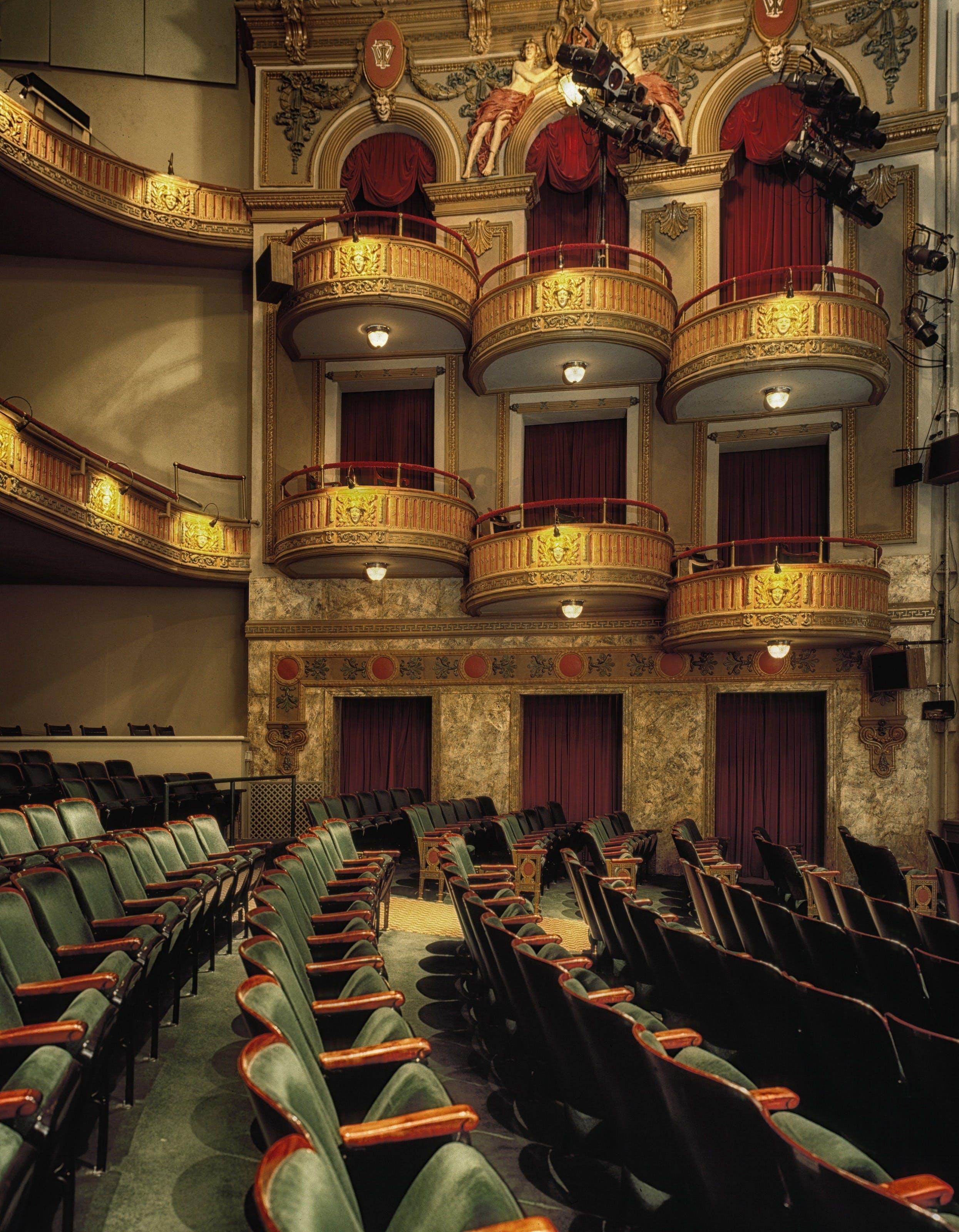 Gray Theater Seat