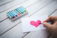 love, heart, hand