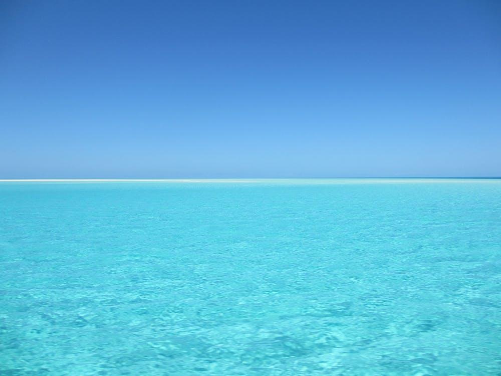 aigua, aigua blava, mar